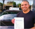 Mo with Driving test pass certificate