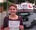 Hahhah with Driving test pass certificate