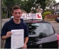 Rhyys with Driving test pass certificate