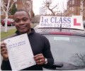 Second with Driving test pass certificate