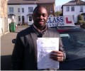 Akin with Driving test pass certificate