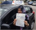 Atera with Driving test pass certificate