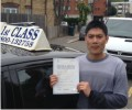 Bui with Driving test pass certificate