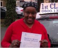 Blatina with Driving test pass certificate