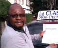 Kingston with Driving test pass certificate