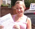 Marai with Driving test pass certificate