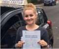 Gen with Driving test pass certificate
