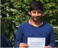 Sharjel with Driving test pass certificate