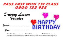 Birthday Voucher Heart